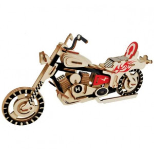 Puzzle 3D -  Motorcycle