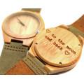Ceas de lemn - Sabia